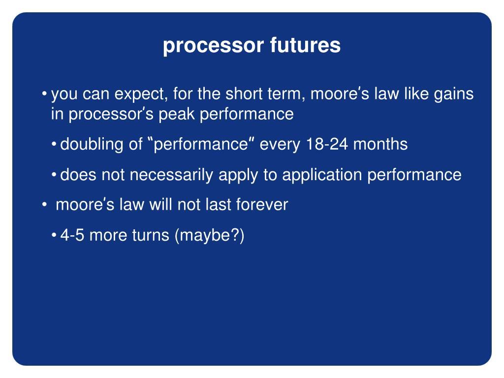 processor futures