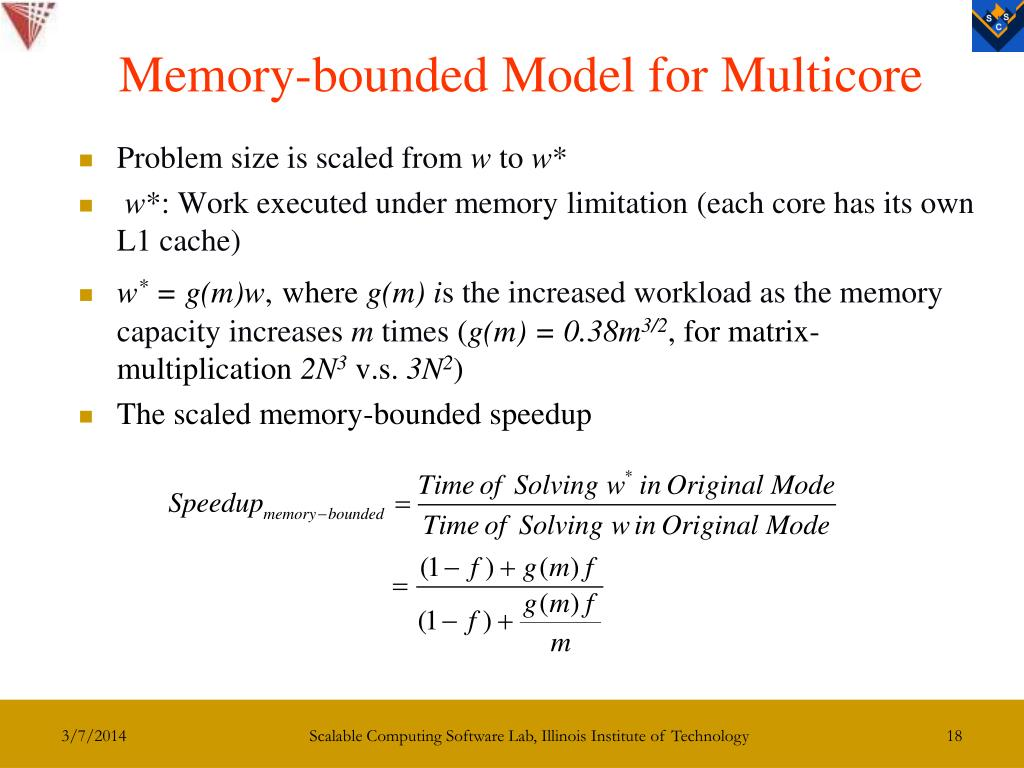 Memory-bounded Model for Multicore