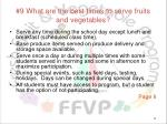 9 what are the best times to serve fruits and vegetables