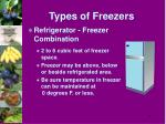 types of freezers19