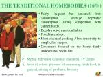 the traditional homebodies 16