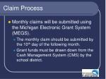 claim process41
