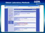 obtain laboratory methods