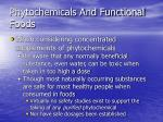 phytochemicals and functional foods88