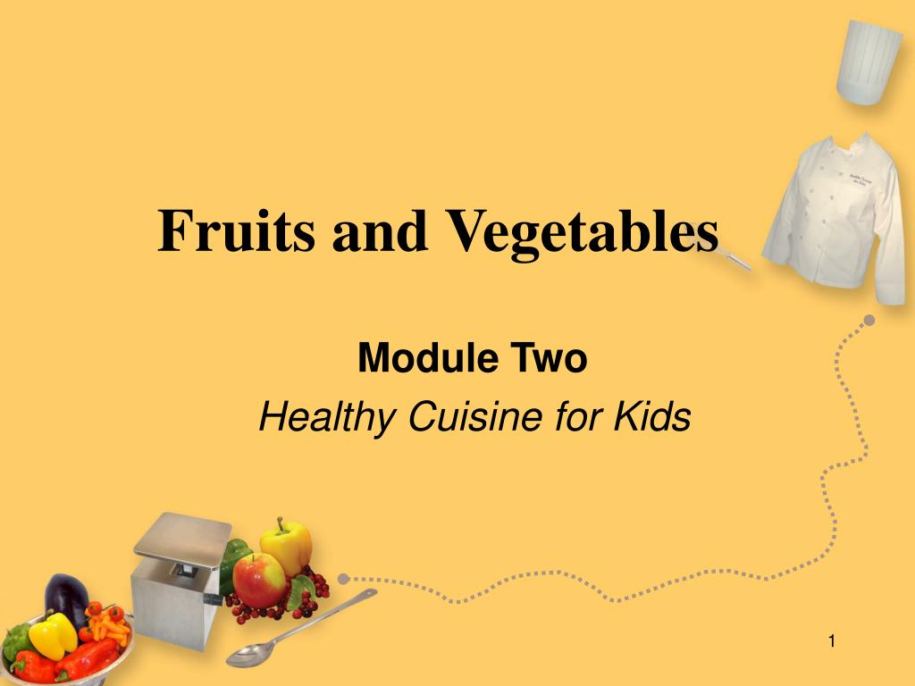 fruits and vegetables l.