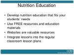 nutrition education21
