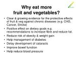 why eat more fruit and vegetables