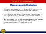 measurement evaluation16