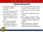 parent comments