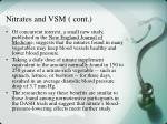 nitrates and vsm cont23