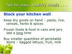 tips for easy healthy meals17