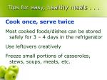 tips for easy healthy meals18