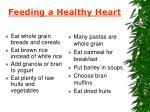feeding a healthy heart