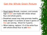 get the whole grain picture