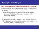 branding the prostart program13