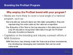 branding the prostart program14