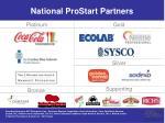 national prostart partners
