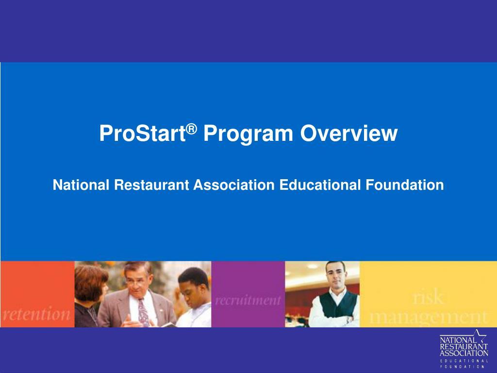 prostart program overview l.