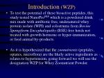 introduction wzp
