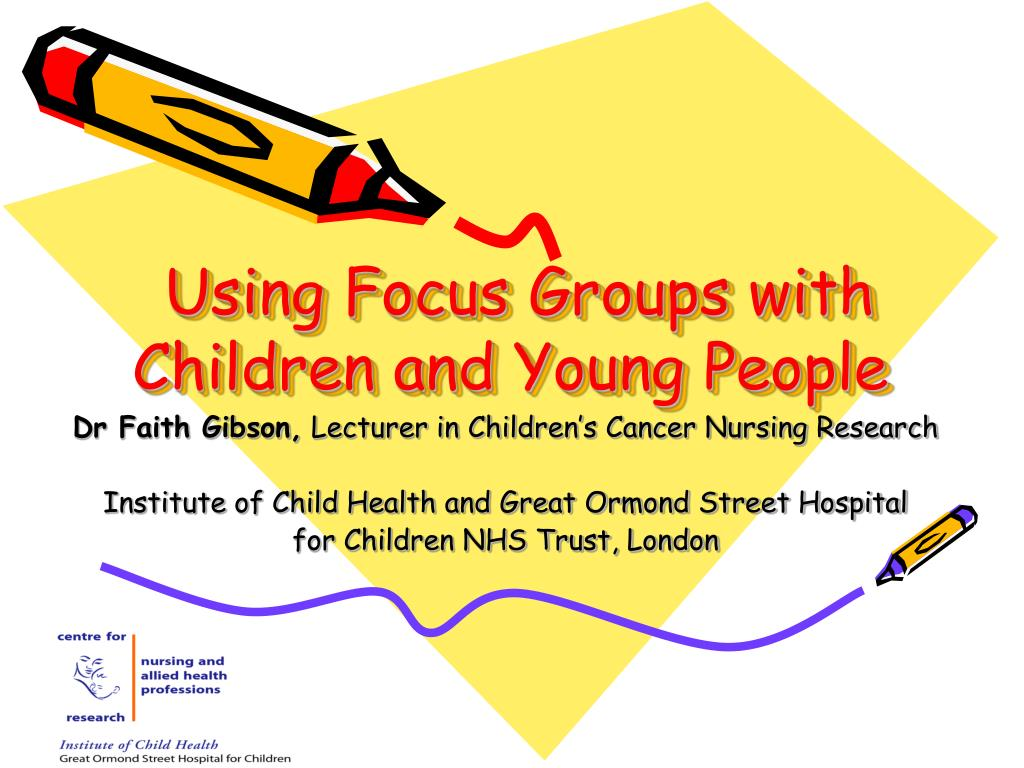 Using Focus Groups with Children and Young People