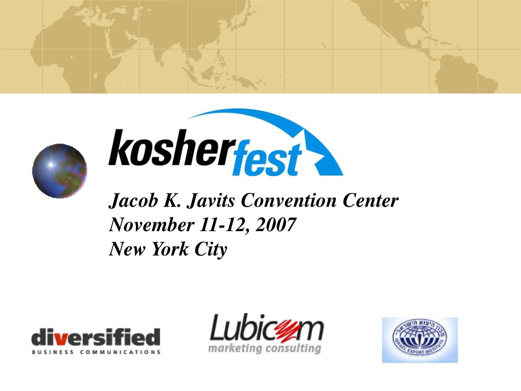 jacob k javits convention center november 11 12 2007 new york city l.