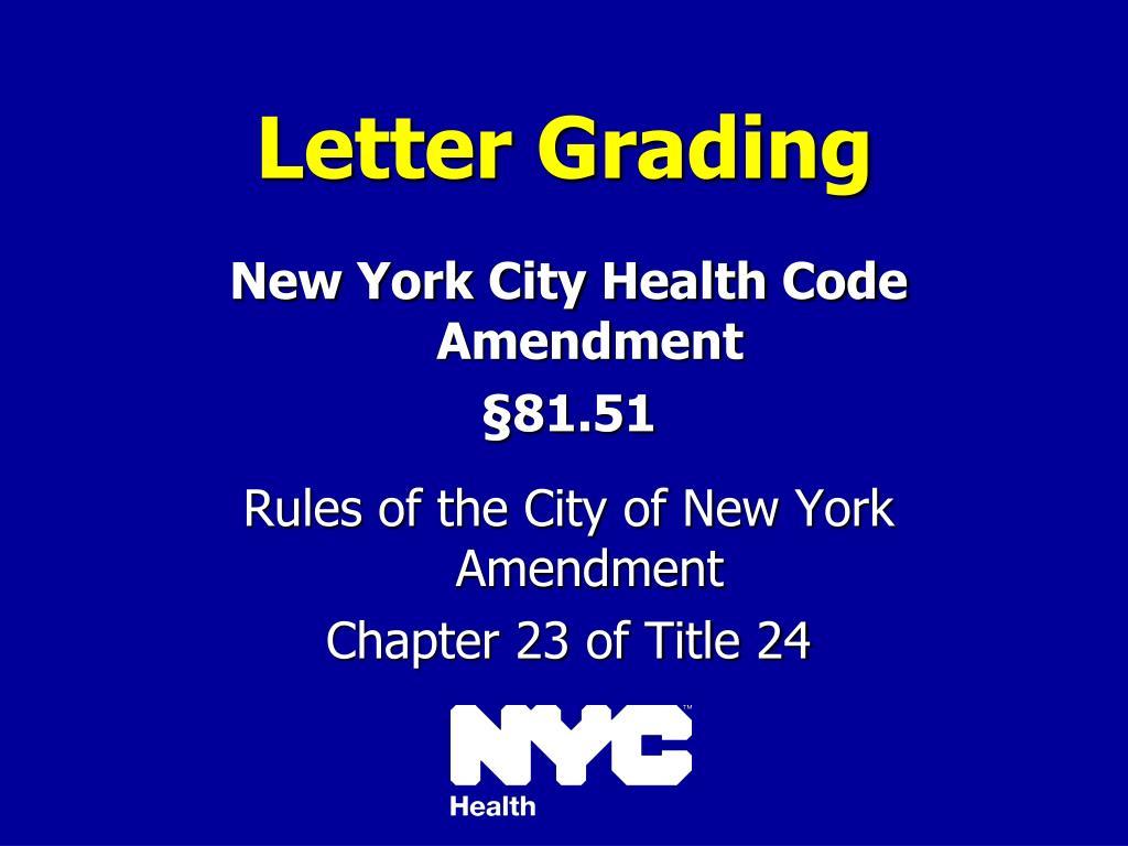 letter grading l.
