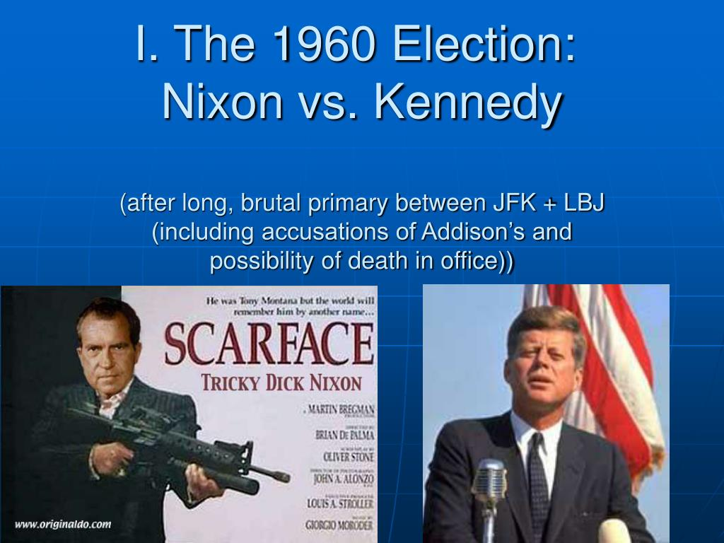 I. The 1960 Election: