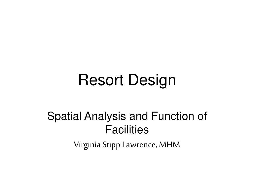 resort design l.