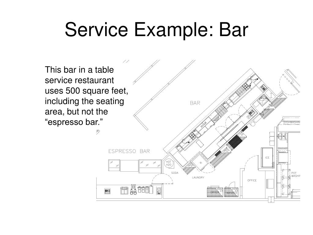 Service Example: Bar