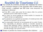 soci t de tourisme 1