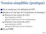 version simplifi e pratique