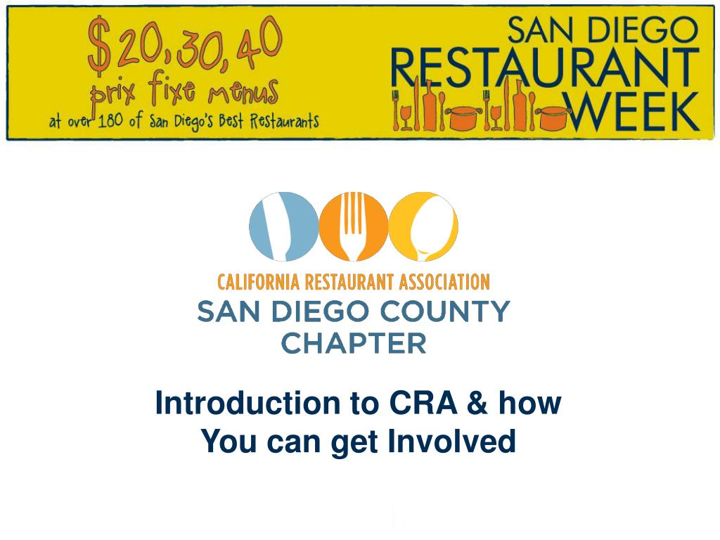 Introduction to CRA & how
