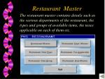 restaurant master