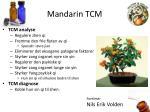 mandarin tcm