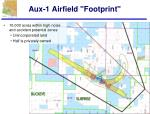 aux 1 airfield footprint