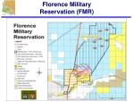 florence military reservation fmr
