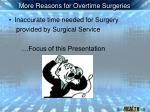 more reasons for overtime surgeries14