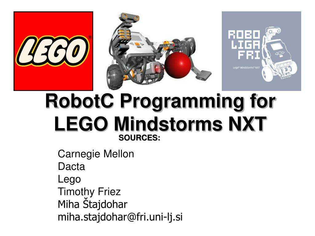 PPT - RobotC Programming for LEGO Mindstorms NXT PowerPoint