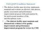 v626 qapi condition statement