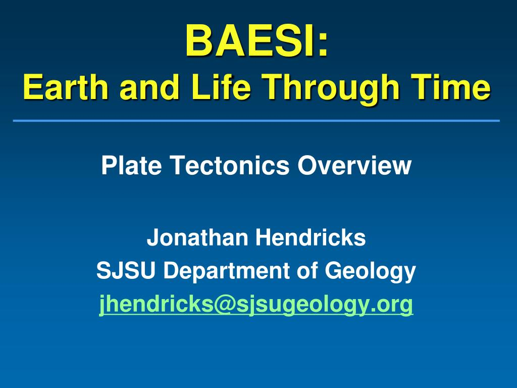 Initiation and Evolution of Plate Tectonics on Earth: Theories and...