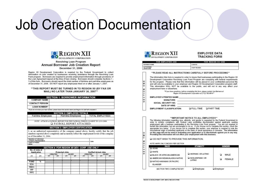 Job Creation Documentation