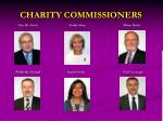 charity commissioners