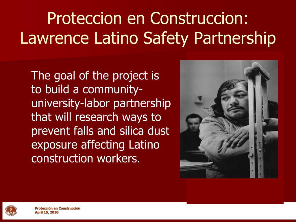 Proteccion en Construccion: