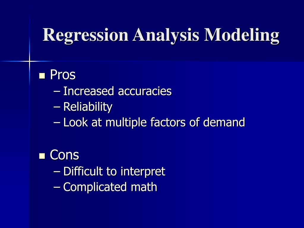 Regression Analysis Modeling