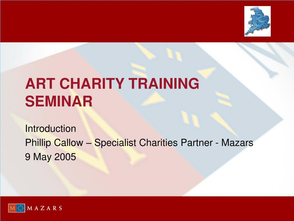 art charity training seminar l.