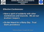 guidelines for a successful conference cont59