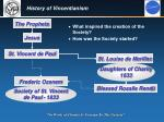 history of vincentianism