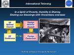 international twinning