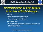 what is vincentian spirituality