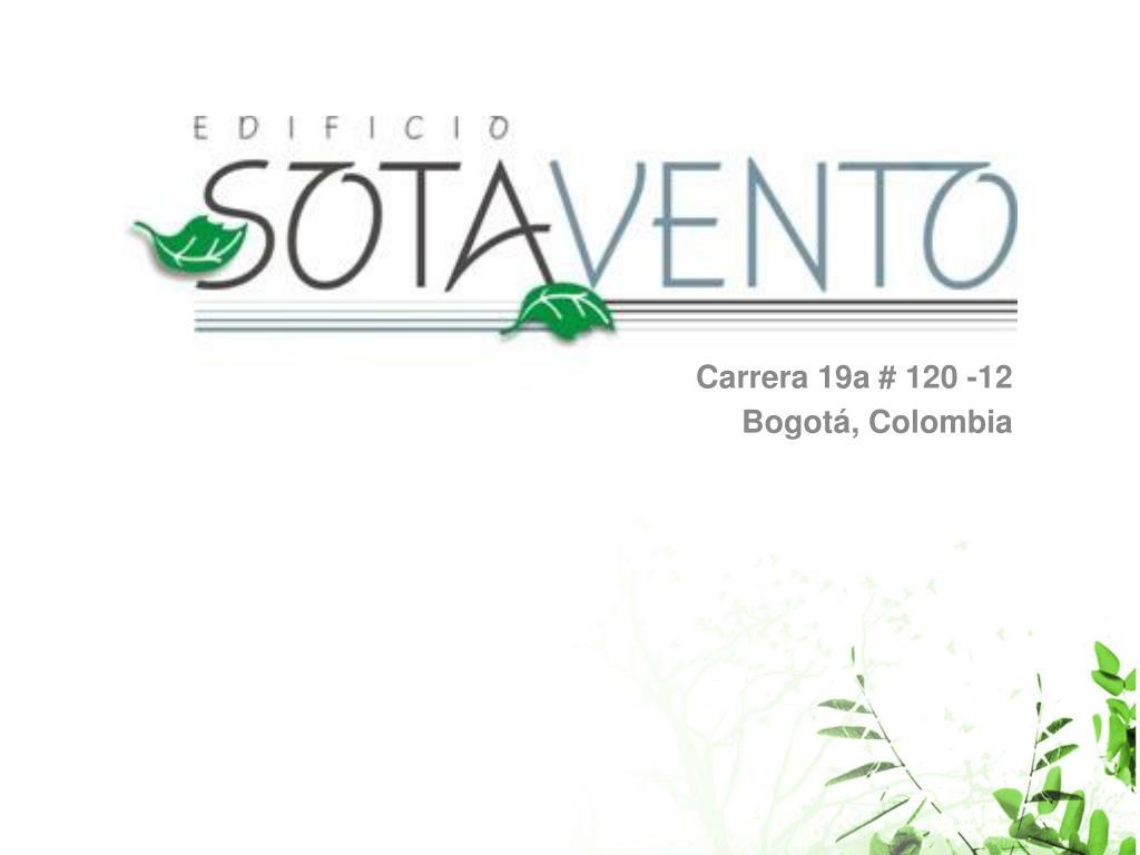 carrera 19a 120 12 bogot colombia